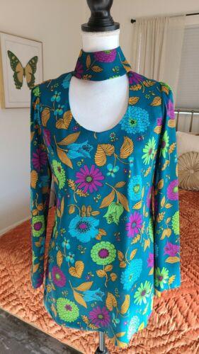 60's 70's Corky Craig mod gogo mini dress adorable