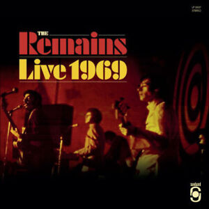 THE-REMAINS-LIVE-1969-SUNDAZED-MUSIC-RECORDS-VINYLE-NEUF-NEW-VINYL-LP-GATEFOLD