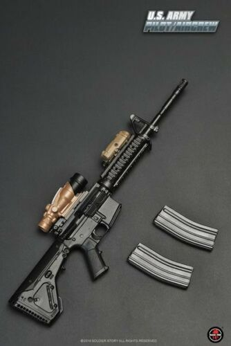 1//6 Soldiers Story ACU Aircrew M4 Carbine /& Accessories SS087