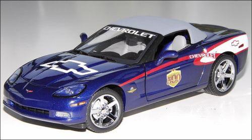 Franklin Mint 2006 Corvette Indy 500 Festival Le de 500 1 24 Escala Hard To