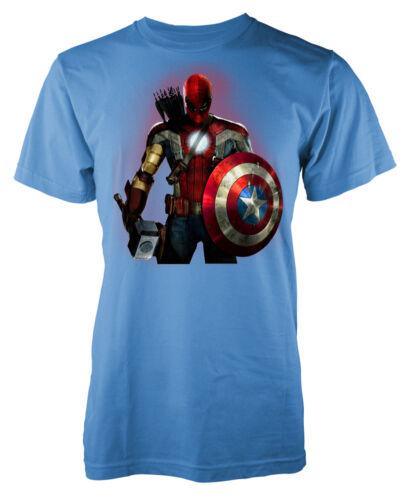 Superhero Mashup Marvellous kids t shirt