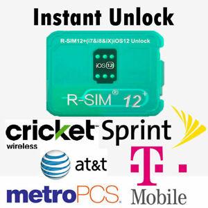 R-SIM12+ Nano Unlock RSIM Card For iPhone 13/12/11 Pro Max XS XR 8 7 Plus A+
