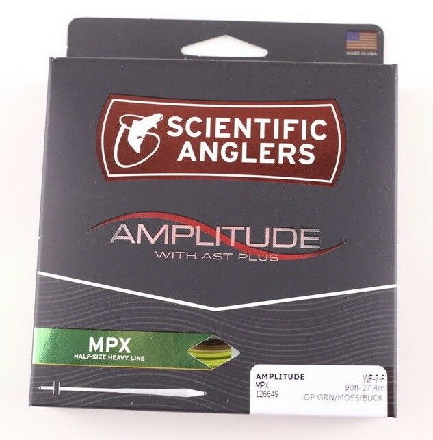 Scientific Anglers Amplitude MPX WF7F Fly Line Green Free Fast Shipping 126649
