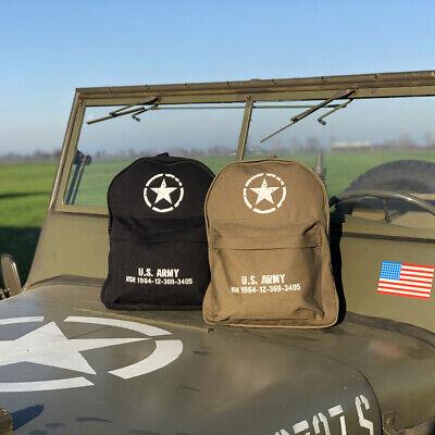 Zaino Militare Scuola Escursionismo Esercito Stati Uniti Stella Us Army Vo351552