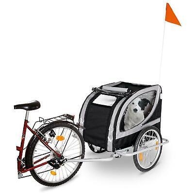 100% Wahr Karlie Doggy Liner Paris De Luxe Fahrrad Anhänger Hundeanhänger Grau Schwarz Kataloge Werden Auf Anfrage Verschickt
