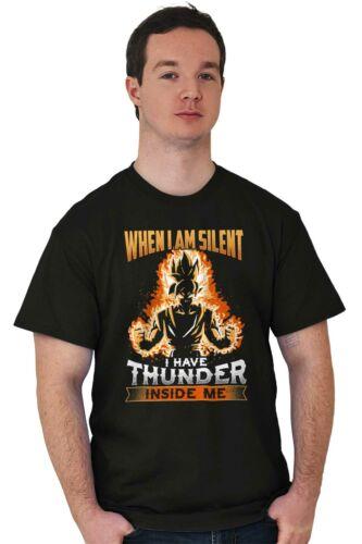 When I Am Silent I Have Thunder Inside Me Alien Ninja Nerd Classic T Shirt Tee
