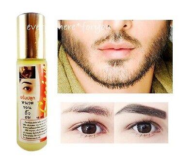 HAIR GROWTH GINSENG BENEFITS SERUM MEN FAST LONG TONIC EYEBROWS BEARD  THICKER 8856680007110 | eBay