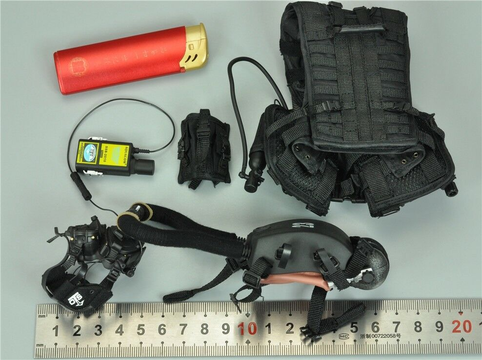 Vest & System & Transceiver for DAM 78056 Marine Force Recon Combat Diver Nuovo