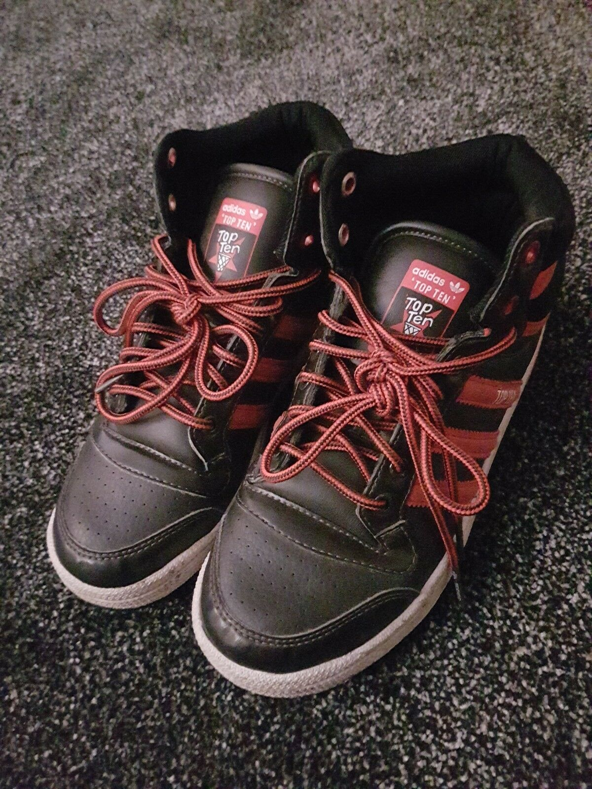 ADIDAS HIGH TOP TRAINERS  SIZE  Cheap and beautiful fashion