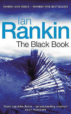"""AS NEW"" The Black Book (A Rebus Novel), Rankin, Ian, Book"