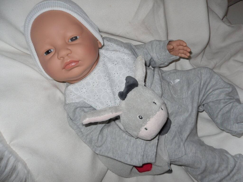 Traumbambolas nuovoborn  Nicole 52 cm pieno VINILE BAMBOLA bambino GIOCO BAMBOLE bambino BAMBOLE  esclusivo