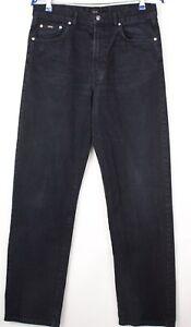 HUGO BOSS Hommes Arkansas Droit Jambe Slim Jean Taille W32 L34 AVZ876