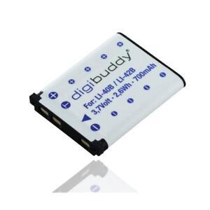 digibudy-Batterie-battery-Akku-accu-700mAh-fuer-Olympus-LI-40B-LI-42B