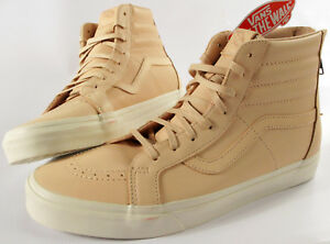 df8ffa6d43 VANS Sk8-Hi Reissue DX Zip Shoes- NEW- veggie Tan Leather OTW ...