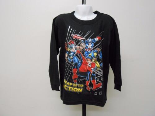 NEW Marvel Spiderman Thor Wolverine Youth Kids Sizes XS-S-M-L-2XL Shirt