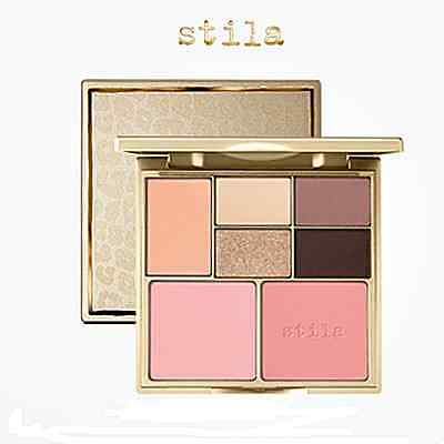 STILA Perfect Me Perfect Hue Eye Cheek Palette Fair/light Type of Shadow Palette