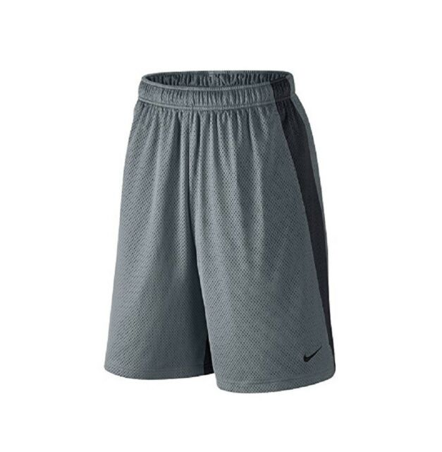 Nike Mens Monster Mesh Shorts Cool Grey/Anthracite/Anthracite Medium
