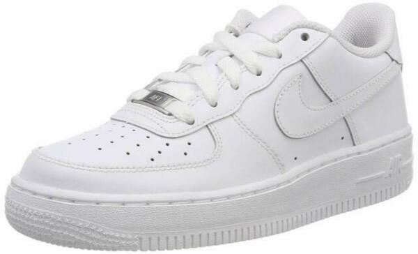 Nike 314192 117 Air Force 1 US 7 Older Kids' Sneakers - White for ...