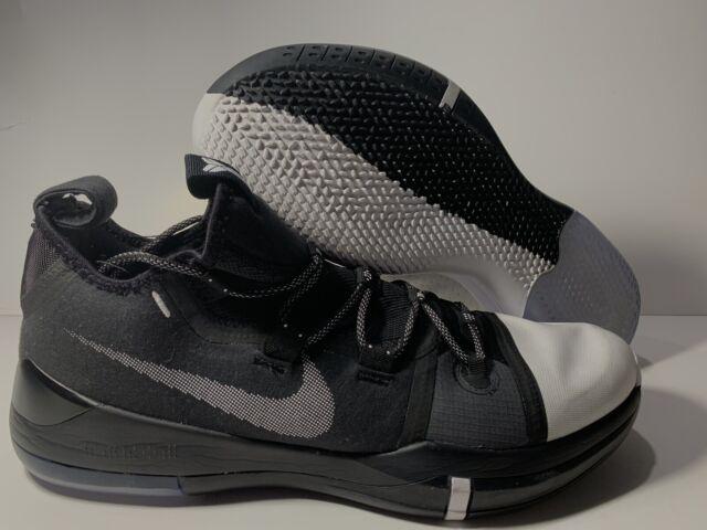 new arrival 0c9de 94208 Nike Kobe AD Exodus Basketball Shoes Black White