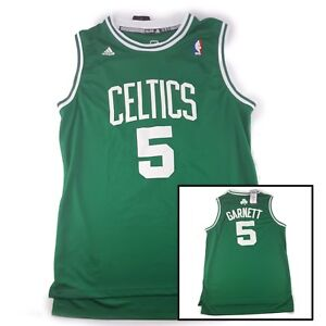 wholesale dealer cce28 acf89 Details about Adidas Boston Celtics Kevin Garnett Mens XXL Sewn Stitched  Embroidered Jersey