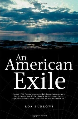 1 of 1 - Very Good, An American Exile, Burrows, Ron, Book