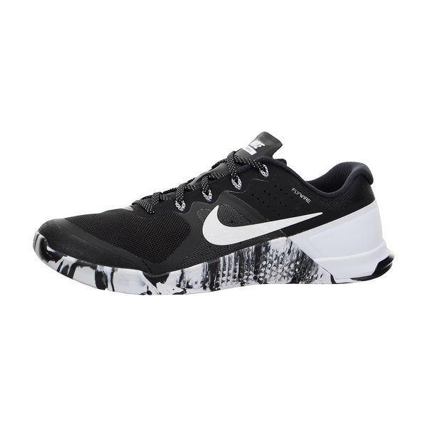 Nike scarpe uomini metcon 2 nero / bianco formazione scarpe Nike sz 14 (819899 010) a5098a