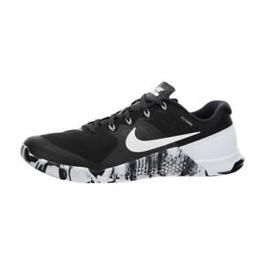 384a4a9e586 Nike Men s Metcon 2 Black White Training Shoes Sz 14 (819899 010 ...