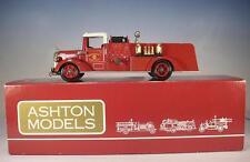 Ashton Models 1/43 AH 30 Mack Pumper Centerport Fire Dept. (1953) OVP #1