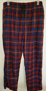 Details about  /Men/'s red Plaid Flannel Lounge NWT Size XL Pajama Pants by Arctic Trail
