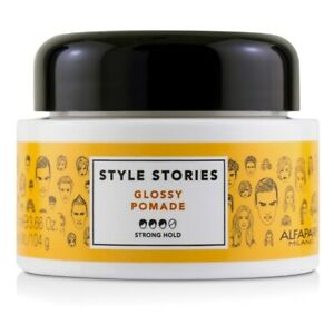 NEW-AlfaParf-Style-Stories-Glossy-Pomade-Strong-Hold-3-66oz-Mens-Hair-Care
