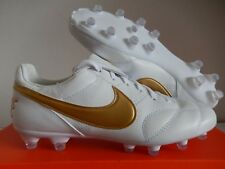 18020708807d Nike Premier II FG Firm Ground Cleats White Metallic Gold 917803-107 Size 9