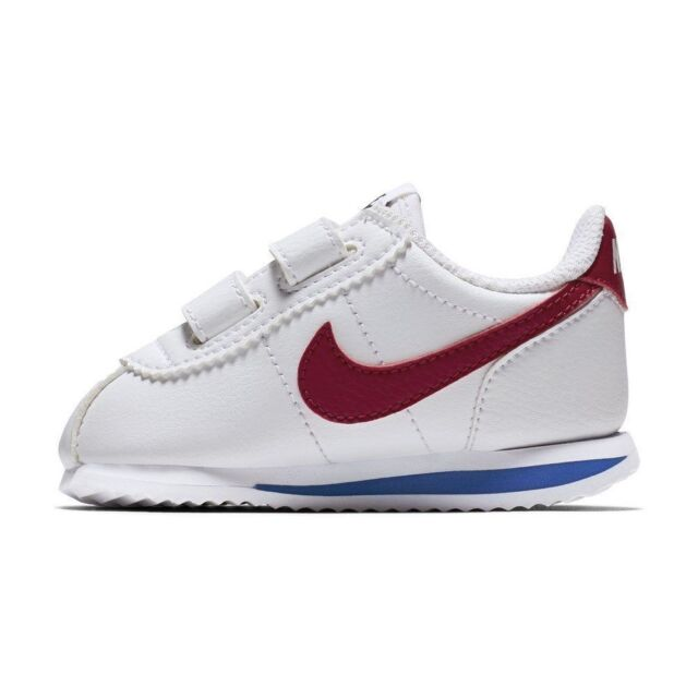 cheap for discount 46e7c 401fc New Nike Baby Cortez Basic SL Toddlers Shoes (904769-103) White/Var  Royal-Red