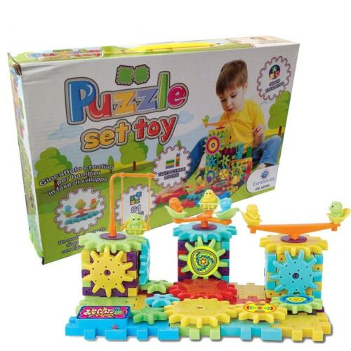 Puzzle Toy Play Set Educational Hundreds combinations achievable constructs