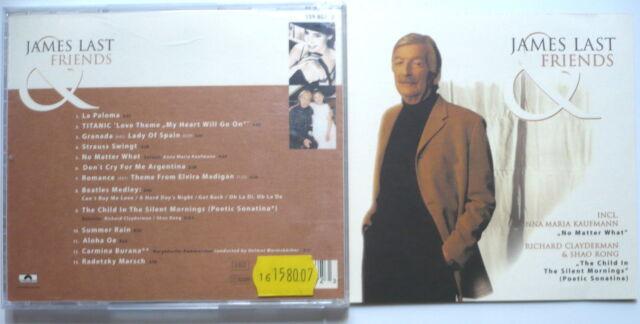 JAMES LAST - James Last & friends - CD > w. Anna Maria Kaufmann, R. Clayderman