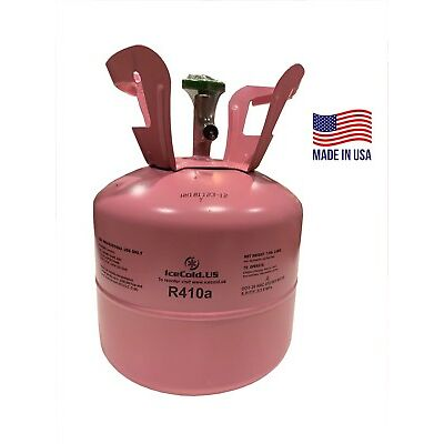 R410a, R-410a R 410a Refrigerant 7.5 Pound Tank. Factory Sealed (MADE IN USA)