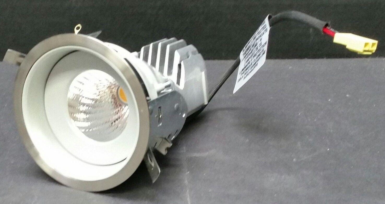 Contraste A3RFR Ardito Round 3.5  LED Lighting Fixture, Brushed Chrome Trim