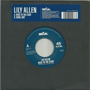 Lilly Allen - Back To The Start 2010 RSD Regal 7 inch vinyl single