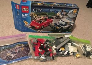 Lego City High Speed Chase 60007retired Set 100 Complete