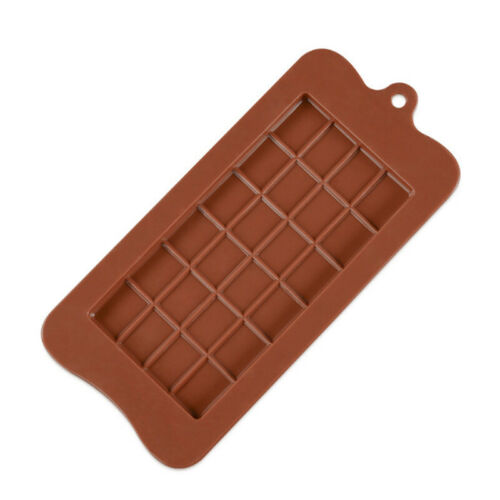 1PC Silicone Chocolate Mold Square Protein and Energy Bar Molds DIY 24 Cavity