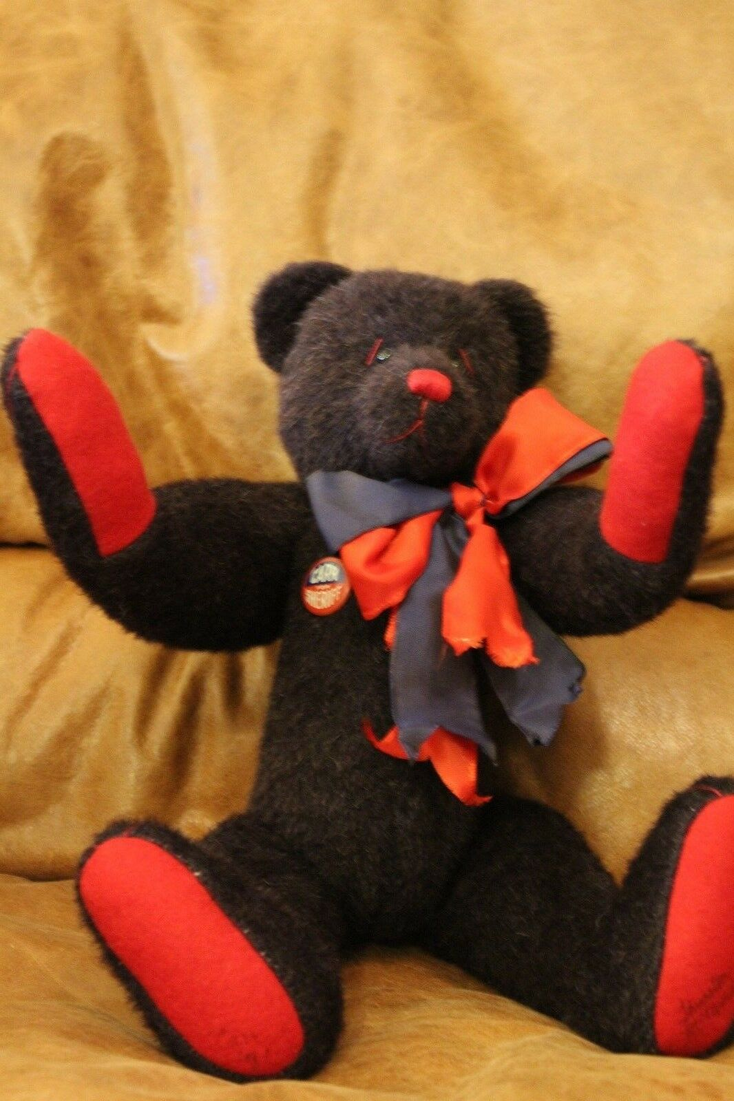 THURSTON McMINDES WOOL Bear Named  CARR   OOAK