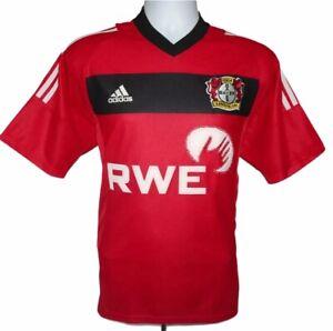 Dettagli su 2002-2004 BAYER 04 Leverkusen Calcio Casa maglietta, ADIDAS, piccolo (eccellente)- mostra il titolo originale