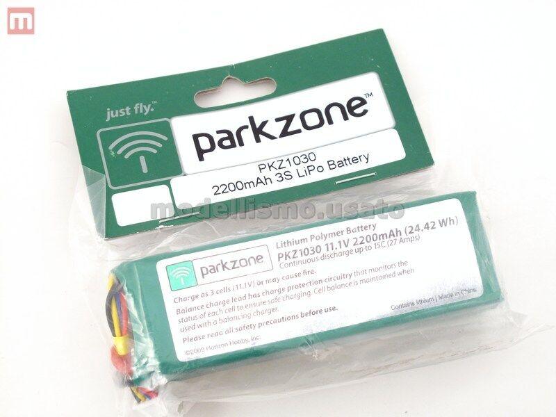 Parkzone PKZ1030 Battery 11.1V 2200mAh Li-Po Batteria modellismo