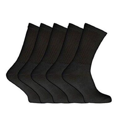 6 o 12 Pares de Calcetines de Algodón para Hombre Deporte Rico Ajuste a Reino Unido tamaño del zapato 6-11