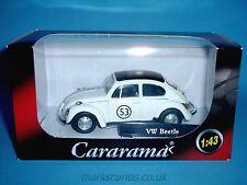 Cararama 1:43 - Volkswagen VW Beetle - Herbie  #53
