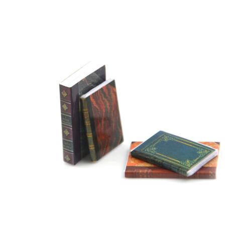 4PCS Dollhouse Miniature 1:12 Toy 4 Pieces Of Books Length 2.4cm ZiFBJBBLUS