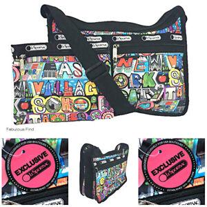 Schiff Geben Crossbody Lesportsac Sie Nwt Nyc frei Cosmetic Tasche Deluxe Exclusive das Alltägliche wRfxgZOq