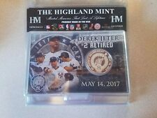 The Highland MINT Derek Jeter #2 Retirement Coin May 14th 2017
