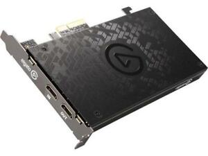 Elgato Game Capture 4K60 Pro, 4K 60fps Capture Card With Ultra-Low Latency Techn
