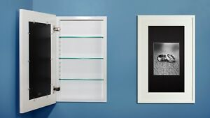 Image Is Loading Recessed Medicine Cabinet W Picture Frame Door No