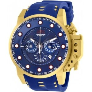 Invicta-25273-50mm-I-Force-Bomber-Quartz-Chronograph-Silicone-Strap-Men-039-s-Watch